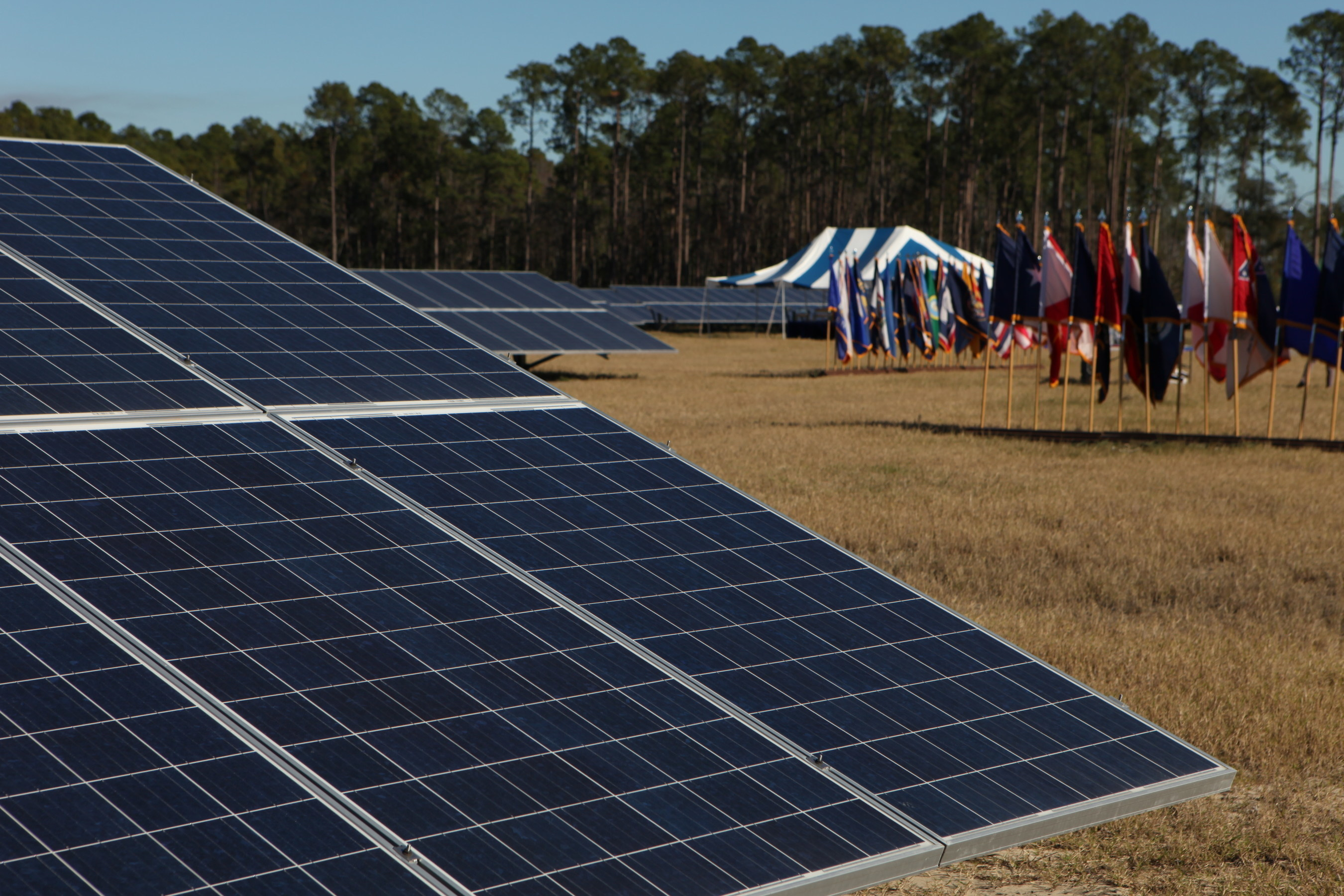 Including related transmission and distribution infrastructure, Georgia Power's solar project at Fort Stewart occupies 250 acres, utilizes approximately 139,200 ground-mounted photovoltaic (PV) panels and is estimated to represent a $75 million investment at the installation.