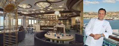 """Chef Emmanuel Renaut partners with Princess Cruises to launch his first restaurant at sea: """"LA MER - A French Bistro by Emmanuel Renaut"""""""