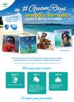 #GuamRays Photo Contest sponsored by Guam Visitors Bureau (PRNewsFoto/Guam Visitors Bureau)
