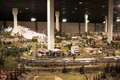The Gigantic Model Railroad at the Choo Choo Barn (PRNewsFoto/Choo Choo Barn)