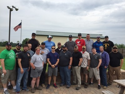 Warriors recently attended a day of trap shooting in Delaware Ohio, thanks to an event hosted by Wounded Warrior Project (WWP)