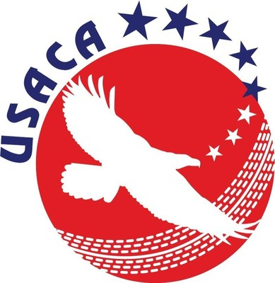 Logo of the United States of America Cricket Association (USACA)