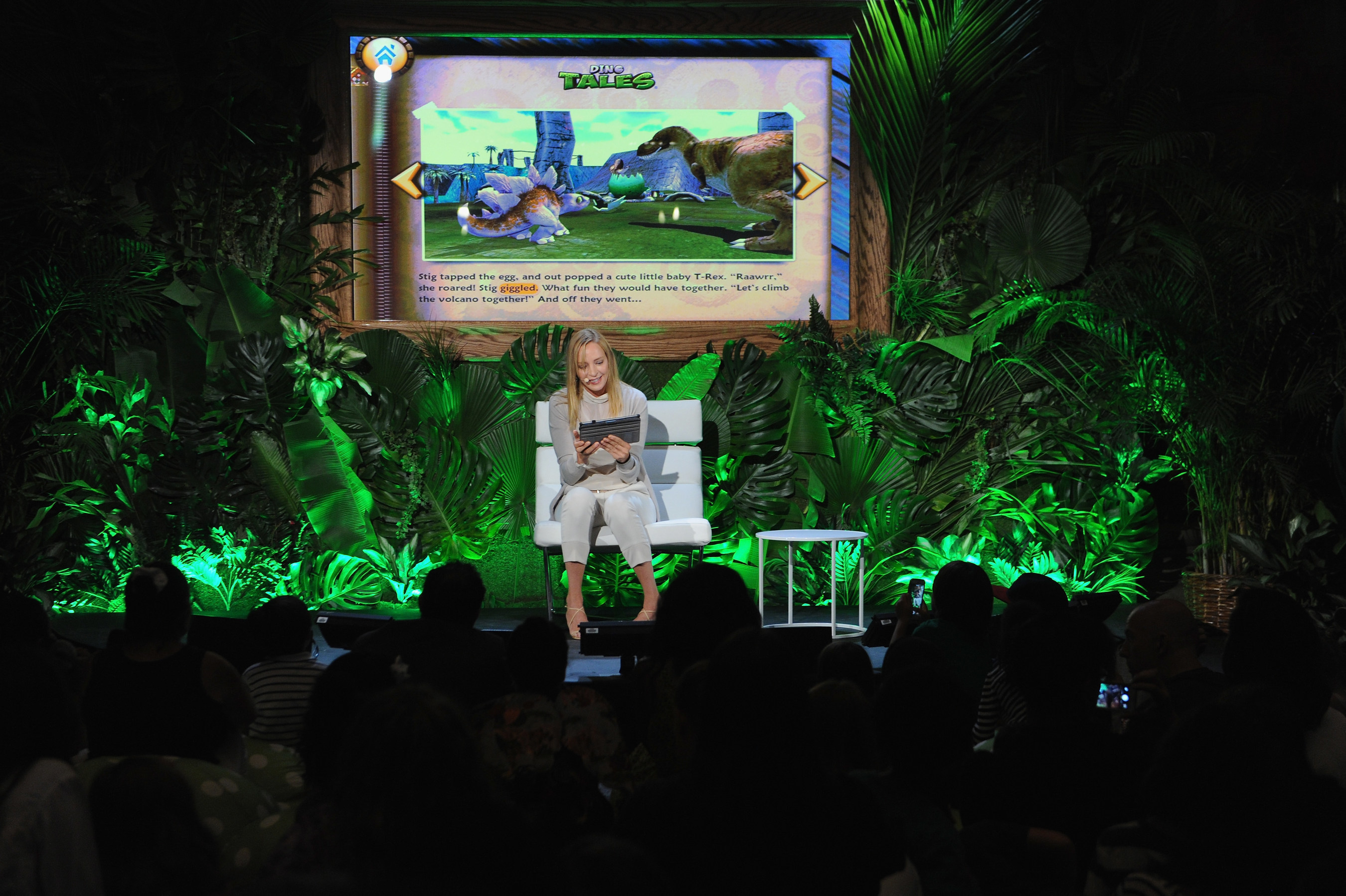 Uma Thurman And Kuato Studios Launch Dino Tales and Safari Tales In North America At The American Museum Of Natural History