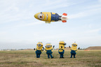 Several of the Minions from Universal Pictures and Illumination Entertainment's DESPICABLE ME 2 will be the first to board the Despicablimp. (PRNewsFoto/Universal Pictures, Suzanne Hanover) (PRNewsFoto/UNIVERSAL PICTURES)