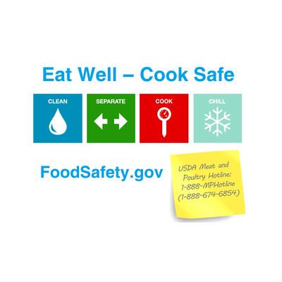 Visit www.FoodSafety.gov for more tips