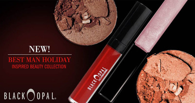 """Black Opal: """"The Best Man"""" Holiday Inspired Beauty Collection. (PRNewsFoto/Black Opal Cosmetics) (PRNewsFoto/BLACK OPAL COSMETICS)"""