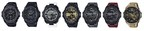 Seven new releases to the G-SHOCK G-STEEL collection.