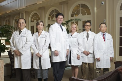 Members of the Huntington Hospital Laborist Program include (left to right) Jaime Lopez, MD, Lisa Diaz, MD, James Barber, MD, Jane van Dis, MD, George Matsuda, MD and John Wong, MD.
