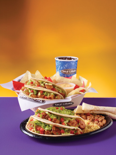 Taco Cabana's Shrimp Tampico is back. Made daily with shrimp hand-marinated in the TC kitchen, in a mix of ...