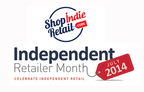 ShopIndieRetail.com celebrates Independent Retailer Month (PRNewsFoto/ShopIndieRetail.com)