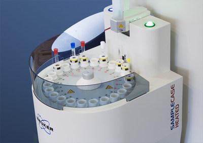 Bruker's SampleCase-heated, designed for work in polymer research