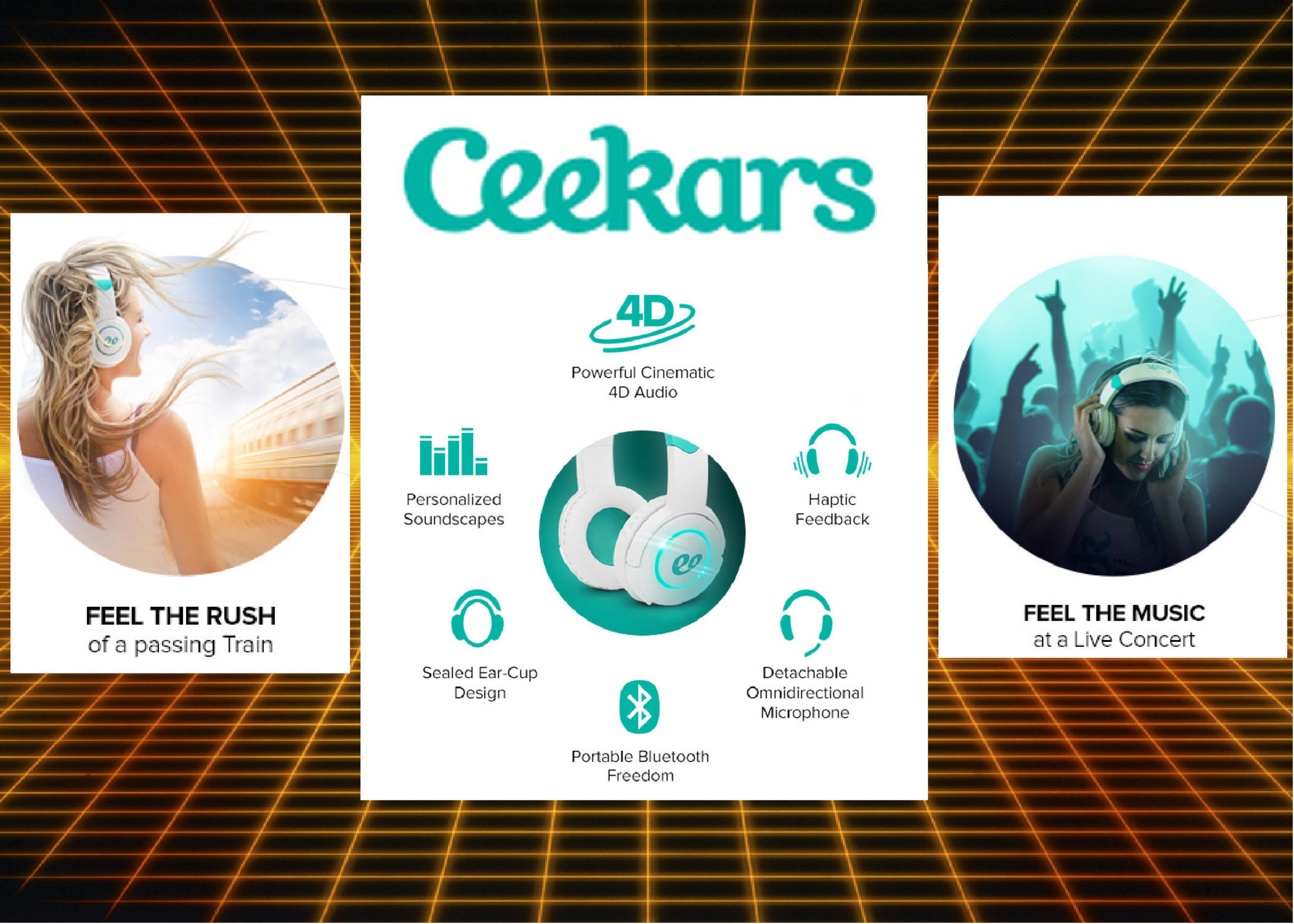 CEEKARS Turns Sound Into a Complete Sensory Experience