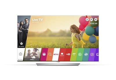 LG Electronics' third-generation webOS 3.0 smart TV platform being unveiled at CES(R) 2016 has been verified by leading global testing and certification organization, Underwriters Laboratory (UL), for its compatibility with Internet of Things (IoT) devices in the home.