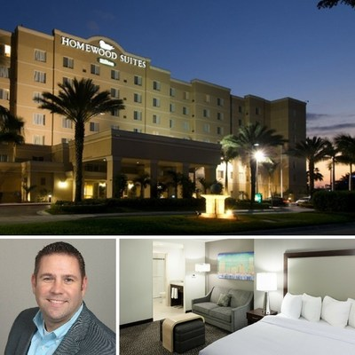 Chris Hammons has been named the general manager of Homewood Suites by Hilton Miami-Airport/Blue Lagoon. The 13-year hospitality veteran will take over a hotel with one- and two-bedroom suites boasting complimentary Wi-Fi, three meeting rooms with a total of 1,550 square feet of event space, a business center, fitness room and outdoor pool. For information or to make a reservation, visit www.homewoodsuites3.hilton.com or call 1-305-261-3335.