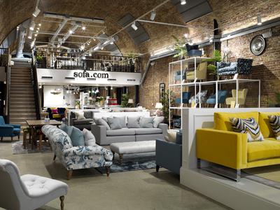 sofa.com's new showroom at London's Bankside