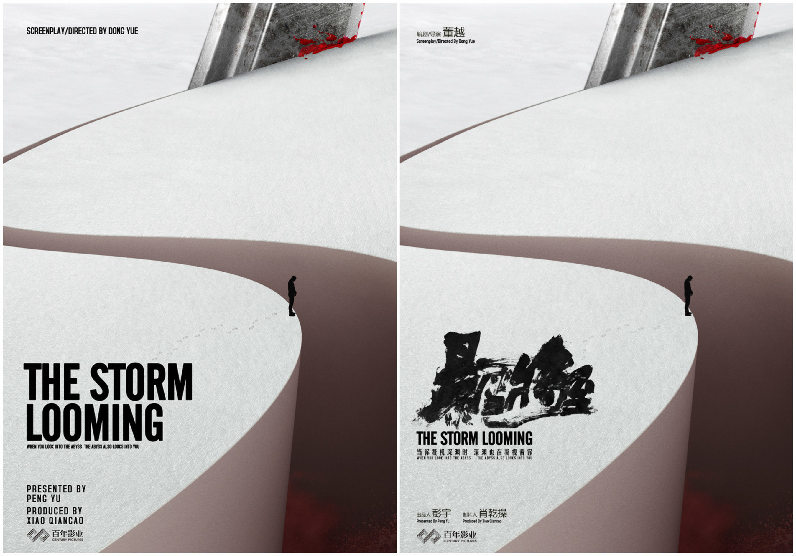 International Concept Poster of The Storm Looming