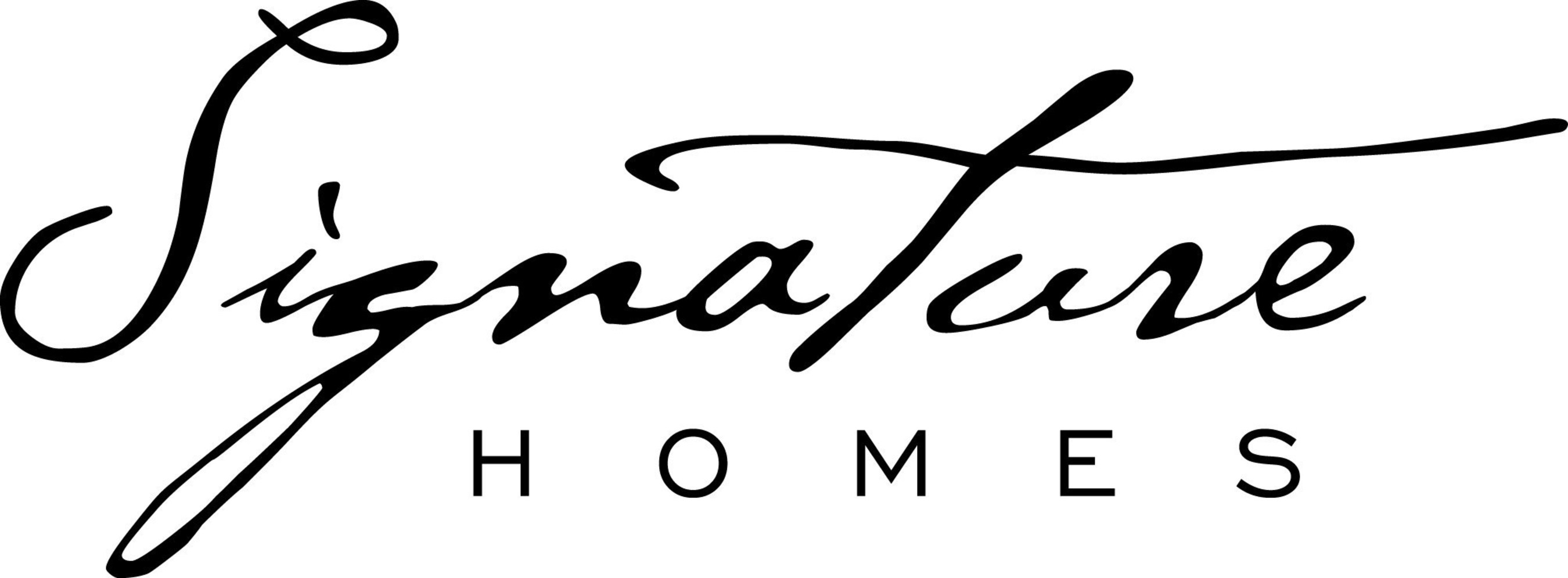 Signature homes announces groundbreaking ceremony for the for Home signature