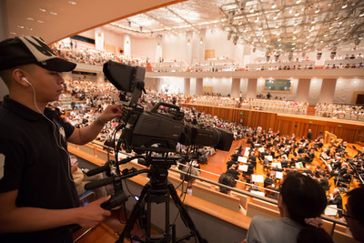 The Philadelphia Orchestra's concerts in Asia are being broadcast. Photo by Chris Lee.
