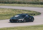 Fotos: El auto de carrera Acura NSX GT3 se prepara para competir