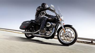 Harley-Davidson's new SuperLow(R) 1200T. For more information check out www.harley-davidson.com/superlow1200T. (PRNewsFoto/Harley-Davidson Motor Company) (PRNewsFoto/HARLEY-DAVIDSON MOTOR COMPANY)