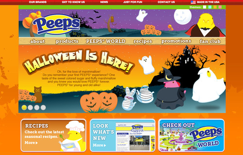 A Spooktacular World of PEEPS® at www.marshmallowpeeps.com