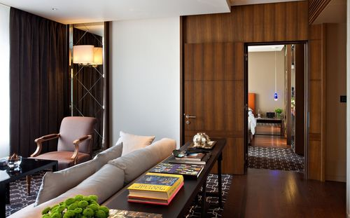 The New Design Park Suites at the Ararat Park Hyatt Moscow Hotel