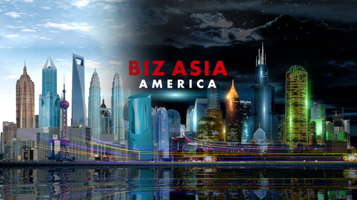 From Washington DC and the NASDAQ studios in New York, CCTV America launches a new two hour TV program - BIZ ...