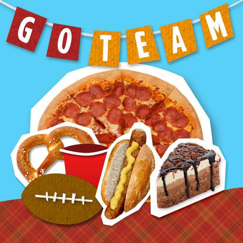 GrubHub Data Reveals Football's Hungriest Fans and Favorite Foods.  (PRNewsFoto/GrubHub Seamless)