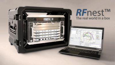 RFnest(TM), The Radio Frequency Network channel Emulator/Simulator Tool, tests wireless communication networks realistically and reliably in a laboratory environment.