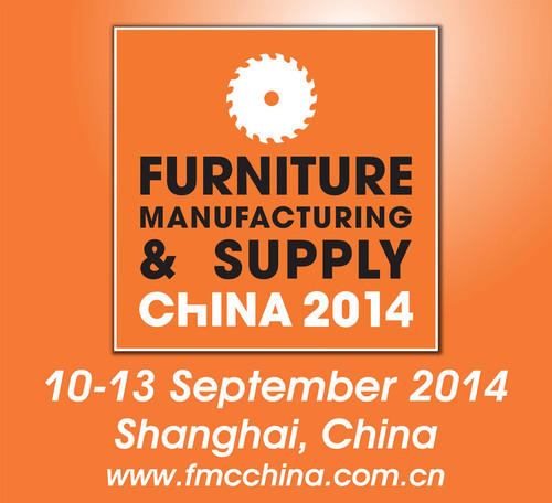 FMC China 2014, September 10-13, 2014, Woodworking Machinery & Furniture Raw Materials, Shanghai, China.  ...