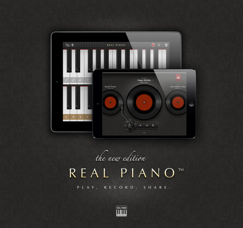 Cookie Apps Unveils New Recording and Sharing Tools in Real Piano HD Pro 3.0 for iPad and Announces