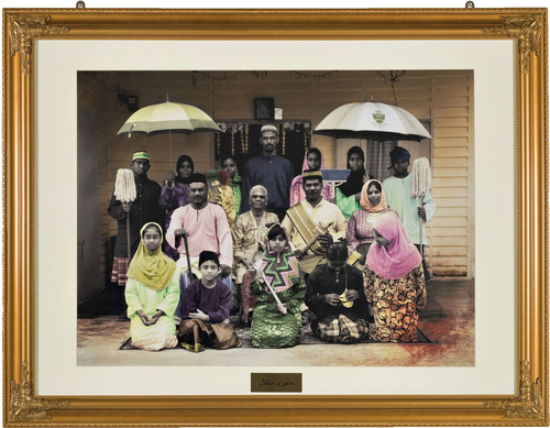 Keeping Up With the Abdullahs 2, 2012: A chromogenic print by Vincent Leong. The work is part of the No ...