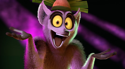 "DreamWorks Animation's ""All Hail King Julien"""