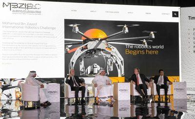 MBZIRC: Inspiring the future of robotics (PRNewsFoto/Khalifa University)