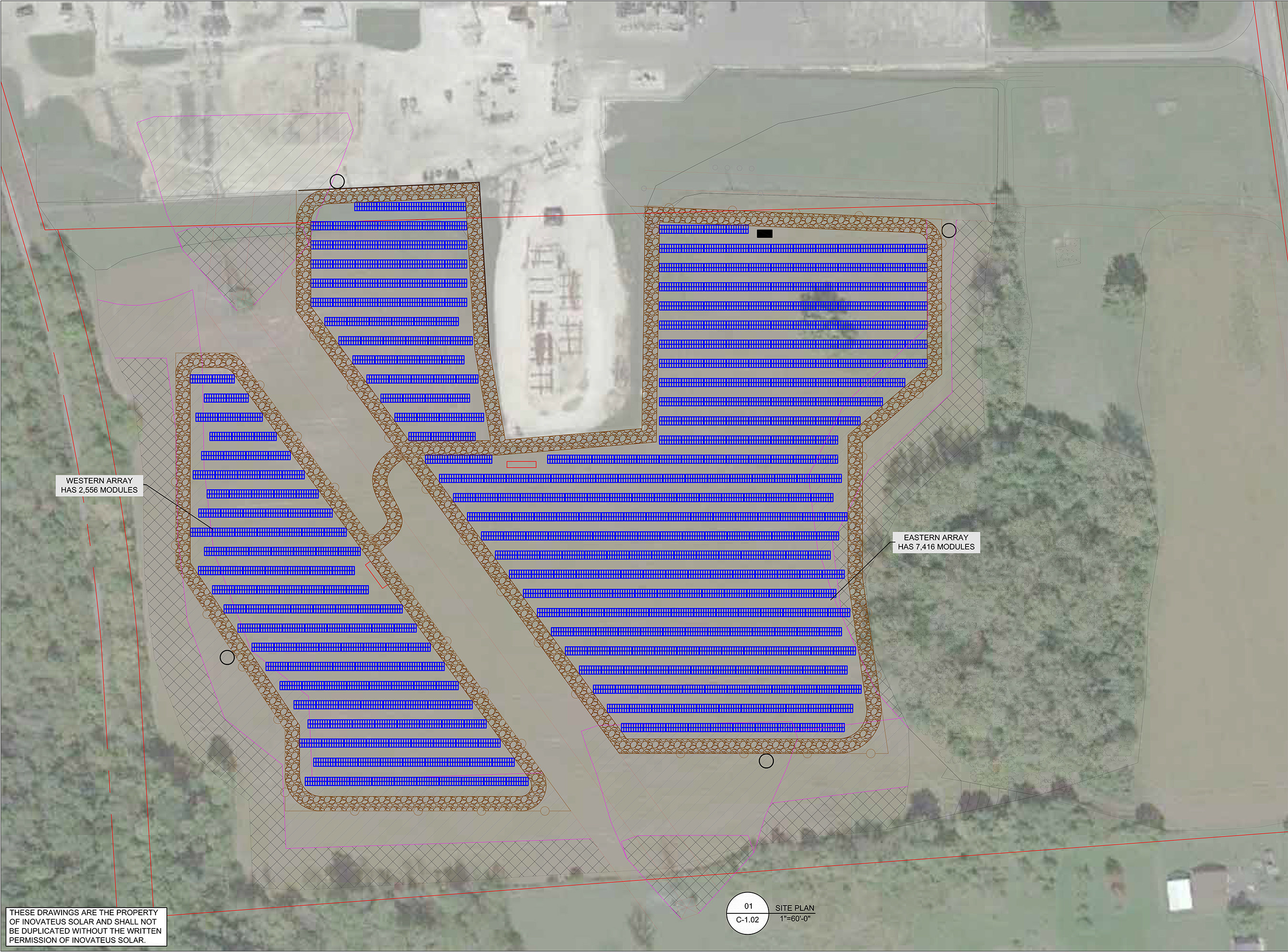 Indiana based Inovateus Solar is awarded the installation of a 2.5-megawatt AC, ground-mounted solar array project for Indiana Michigan Power (I&M) an operating unit of American Electric Power (AEP). The future site of the new I&M solar array is in Marion, Indiana, adjacent to the company's Deer Creek substation.