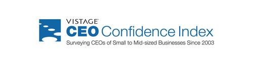 Vistage CEO Confidence Index logo. (PRNewsFoto/Vistage International)