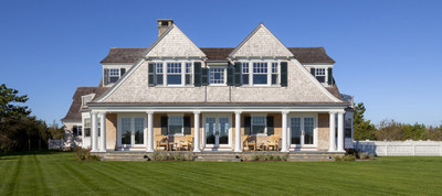 The Architects Challenge Best In Show project, a shingle-style home on Martha's Vineyard, was designed by Patrick Ahearn of Boston. (PRNewsFoto/Marvin Windows and Doors)