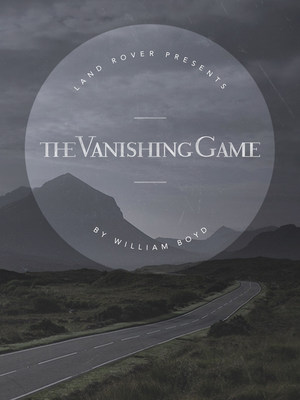 Cover photo of The Vanishing Game by William Boyd