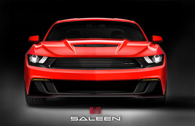 Saleen Provides First Look for All-New 2015 Saleen 302 Mustang (PRNewsFoto/Saleen Automotive, Inc.)