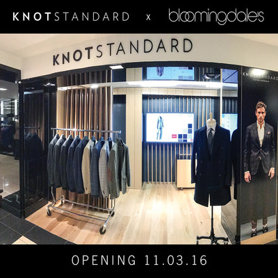 The Knot Standard cutting edge technology allows customers to digitally design and create their own unique custom menswear garment. @knotstandard
