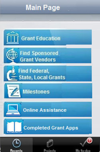 GARPP Grant Home Page.  (PRNewsFoto/KTI-Media)