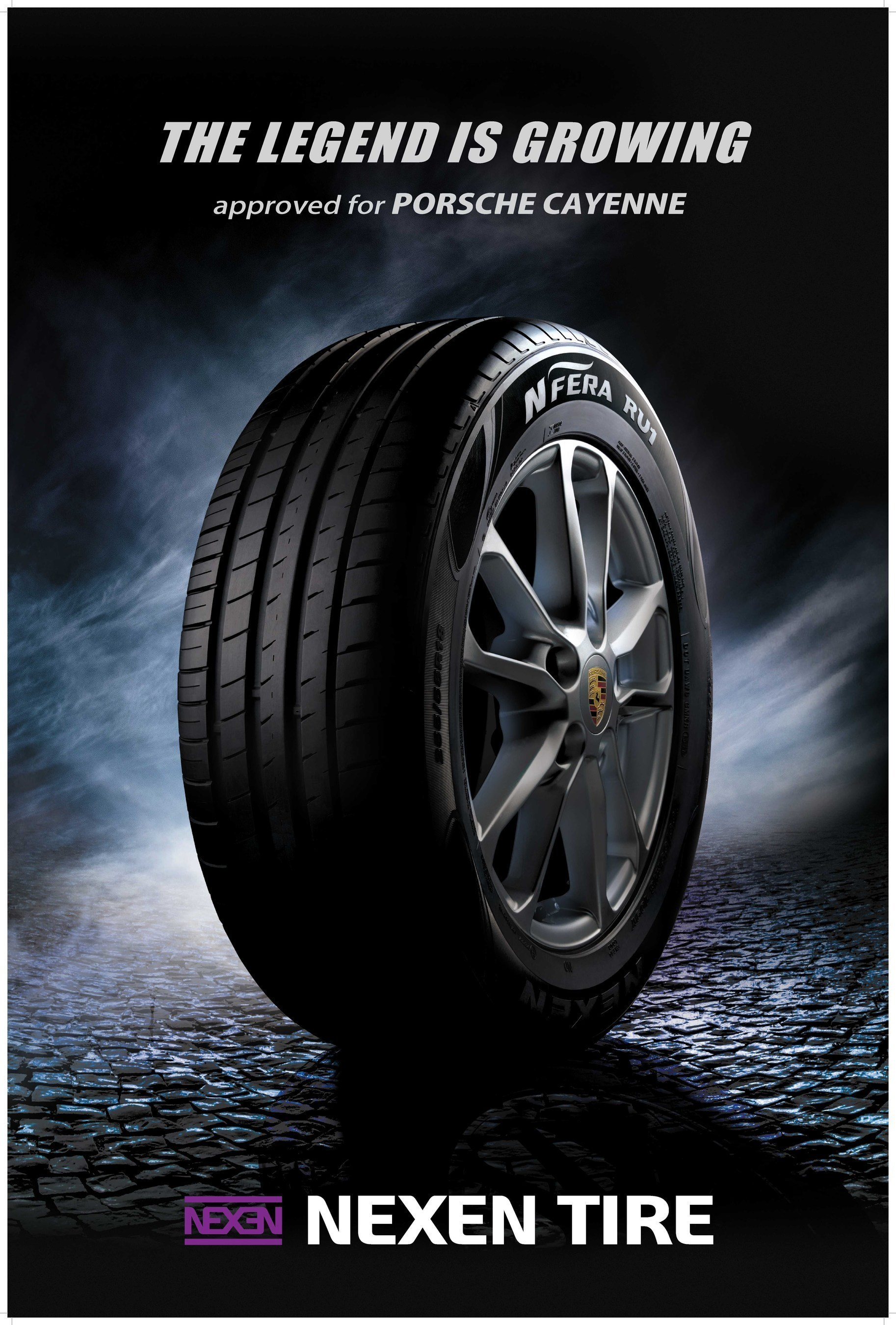 Nexen Tire Supplies Original Equipment Tires for the Porsche Cayenne
