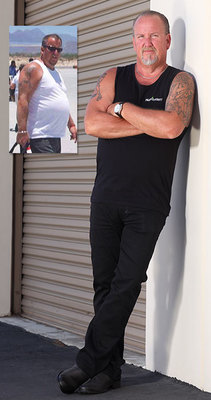 Reality star Darrell Sheets recently revealed that he has lost 40 pounds thanks to Nutrisystem. (PRNewsFoto/Nutrisystem, Inc.)