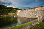 Voith Hydro will rehabilitate three units at the Army Corps of Engineers' Center Hill Dam Powerhouse in Lancaster, Tennessee. HydroVision International, the world's largest hydropower conference, is taking place this week in Nashville. (PRNewsFoto/Voith Hydro)