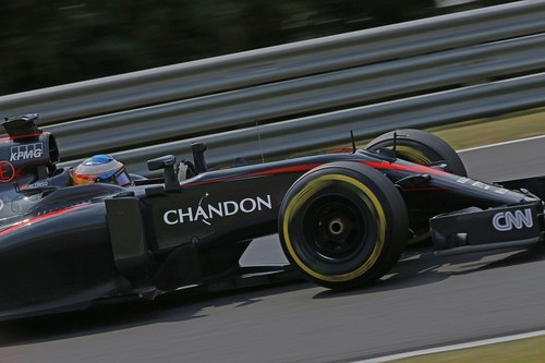 McLaren Honda - Chandon_Car #2 (PRNewsFoto/Chandon) (PRNewsFoto/Chandon)