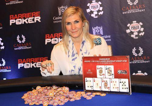 Team 888poker Jackie Glazier Wins the 1st Bracelet at 2013 WSOPE