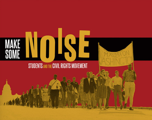 "On Aug. 2, 2013, in time for the 50th anniversary of the March on Washington, the Newseum will open ""Make Some Noise: Students and the Civil Rights Movement,"" an exhibit that explores the new generation of student leaders in the early 1960s who fought segregation by exercising their First Amendment rights and making their voices heard. Photo Courtesy of the Flip Schulke Archive.(PRNewsFoto/Newseum)"