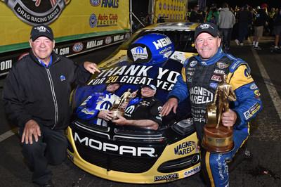 Roy and Allen Johnson cap 20th season with NHRA Finals win aboard Magneti Marelli Mopar Dodge Dart