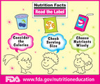 FDA Reminds Kids to Read the Label! (PRNewsFoto/U.S. Food and Drug Admin...)