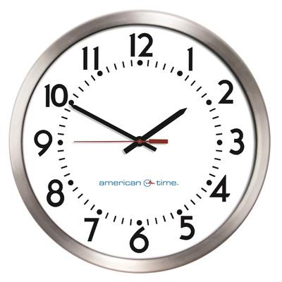 American Time Wi-Fi Clock. (PRNewsFoto/GainSpan Corporation)